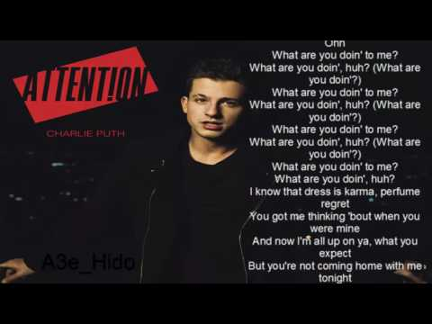 Charlie Puth - Attention (Lyrics / Lyric Video)