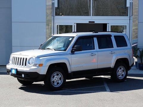 Superior 2012 Jeep Patriot Sport (J8942A)