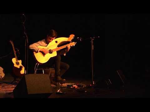 Comfortably Numb - Pink Floyd - LIVE Instrumental Harp Guitar Cover - Jamie Dupuis