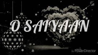 💖💖most beautiful 30 sec whatsapp status video song with lyrics | O SAIYAAN SONG | MR. FUNKY STATUS