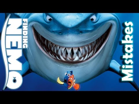 Disney Finding Nemo MOVIE MISTAKES, And Fails By Pixar