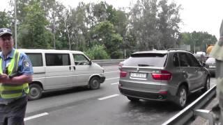 ГАИ.Задержание дипломатического автомобиля.Ч1