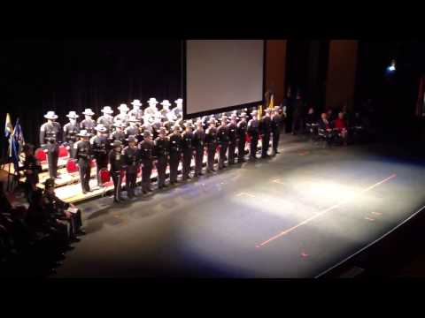 CT State Police 122nd Training Troop Graduation