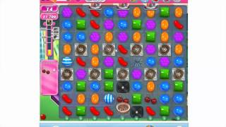 How to play Candy Crush Saga Level 422 - 3 stars - No booster