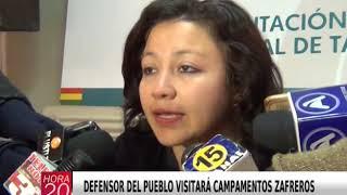 DEFENSOR DEL PUEBLO VISITARÁ CAMPAMENTOS ZAFREROS