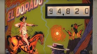 1975 Gottlieb EL DORADO pinball machine