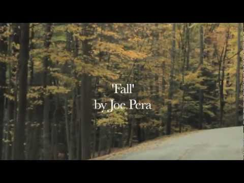 """Fall"", A Cinepoem by Joe Pera"