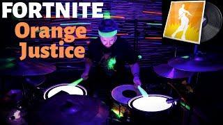 Fortnite - Orange Justice Lobby Music Pack (SEASON 9 Lobby Music) | Drum Improv