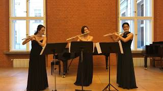 Henry Purcell - The Fairy Queen - Prelude (Flute East Trio)