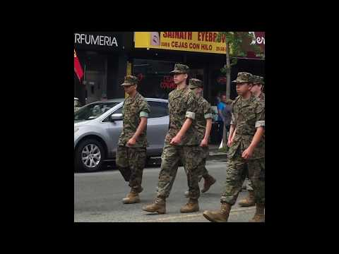 Cuban Parade on Bergenline Ave in West New York, NJ May 2018