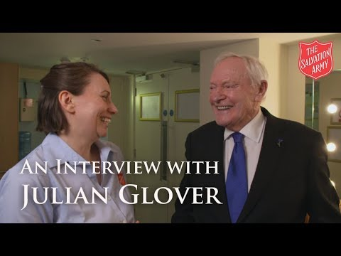 An Interview with Julian Glover | The Salvation Army