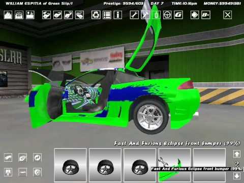 Video Streetlegal Racing M Eclipse Rapido Y Furioso 1