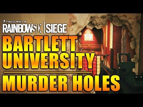 Rainbow Six Siege - In Depth: BARTLETT UNIVERSITY - Murder Holes