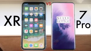OnePlus 7 Pro Vs iPhone XR! (Quick Comparison) (Impressions)