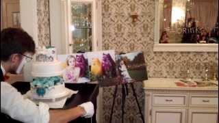 """Презентация свадебного торта от """"Тандем"""" в Panorama Lounge"""