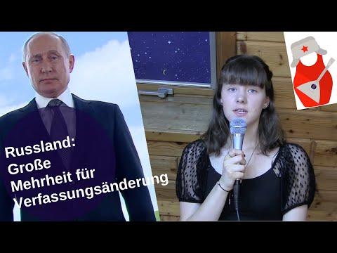 Russland: Große Mehrheit für Verfassungsänderung