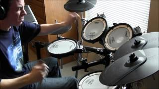 Spock's Beard - Hiding Out - Drum Cover (Tony Parsons)
