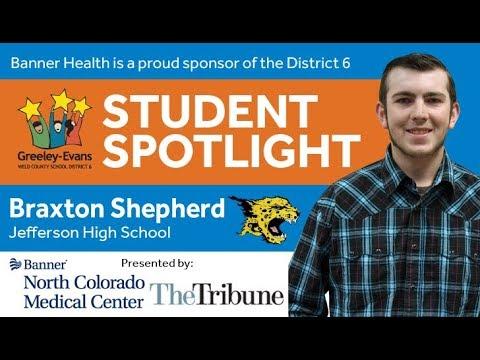Student Spotlight: Braxton Shepherd