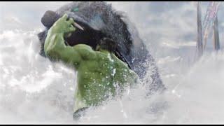 Hulk Vs Fenris wolf | Thor Ragnarok (2017) | Fight Scene