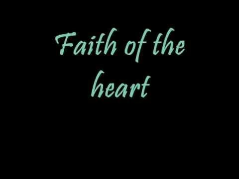 faith of the heart   lyrics wmv   YouTube