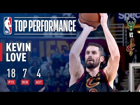 Kevin Love Makes A Statement In His Return To The Land!
