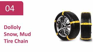 Top 6 Best Snow Tire Chains Review For (Cars, Pickups, and SUV