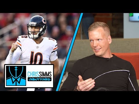 Is Bears' Mitchell Trubisky an MVP candidate? | Chris Simms Unbuttoned | NBC Sports
