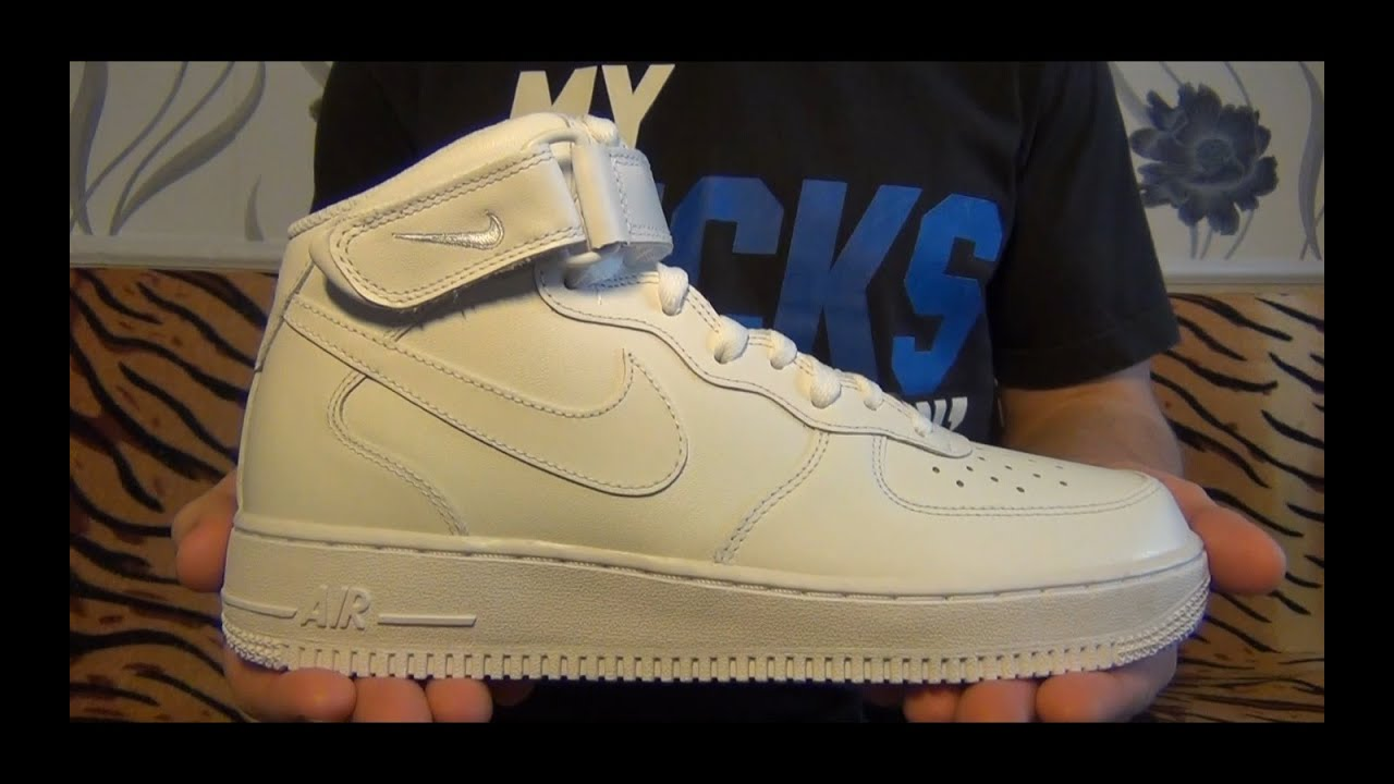 Видеообзор Nike Air Force 1 Mid '07