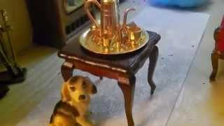 Miniature Doll House Creation -live Video Called Miniature Doll House With Amazing Detail