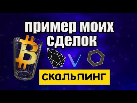 Как торговать криптовалютой: скальпинг по стакану / заработок на криптовалюте 2020