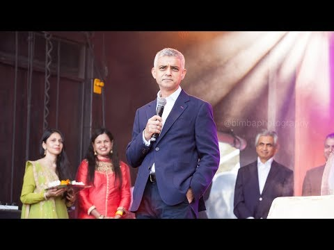 Diwali 2017 | MAYOR OF LONDON | with host Kiran Rai