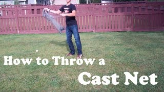 EASIEST Way to Throw a Cast Net