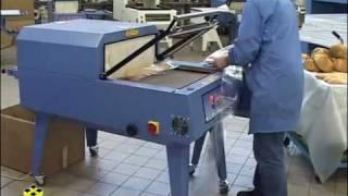 pactur saldatrici per confezionamento pane con film termoretraibile 65n