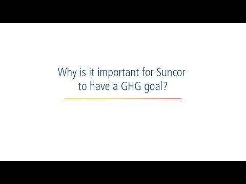 Sustainability at Suncor: Our GHG goal