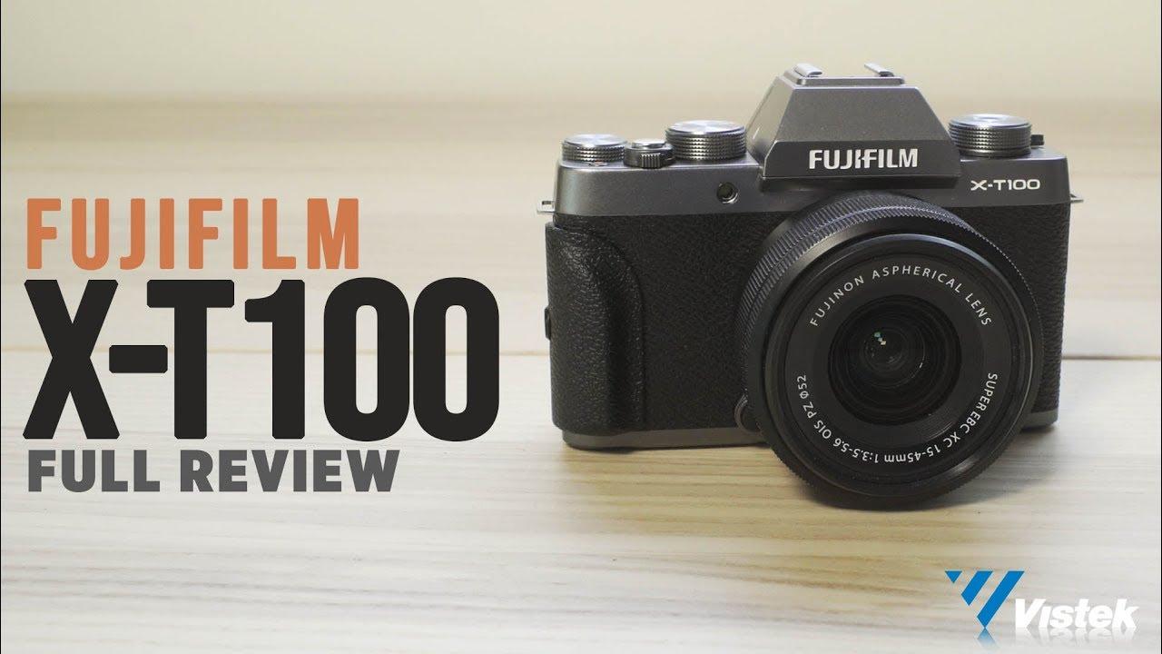 fuji x t100 video test