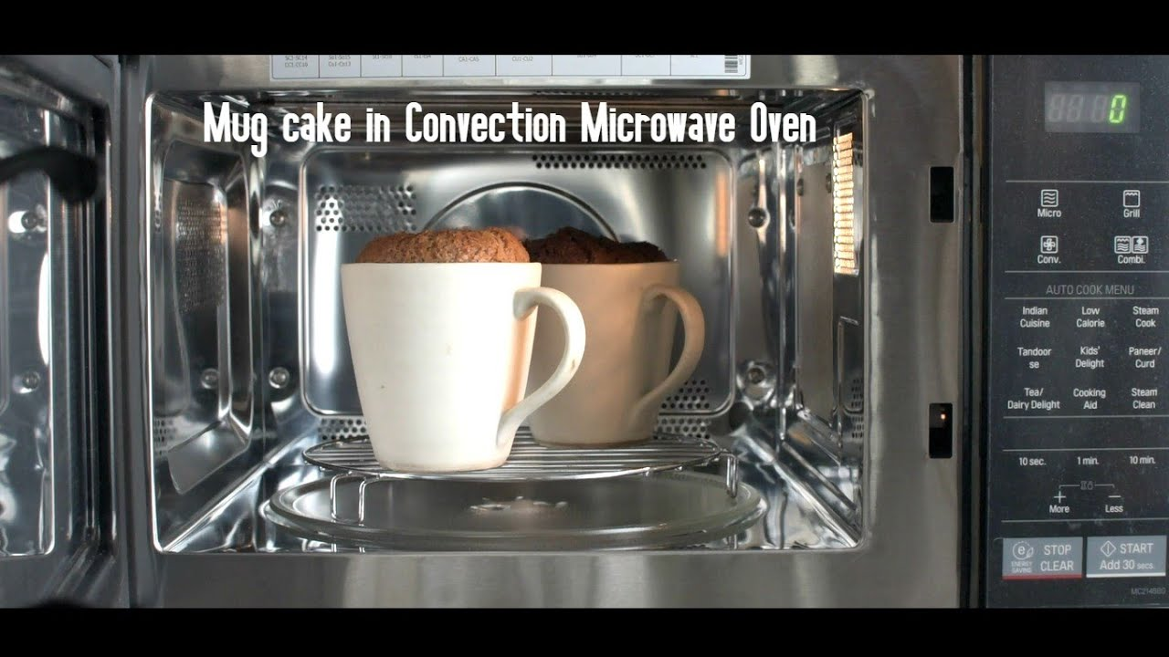 Using Lg Convection Microwave Oven