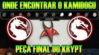 MORTAL KOMBAT X - ONDE ENCONTRAR O KAMIDOGU DO SUBMUNDO - ITEM FINAL DO KRYPT!