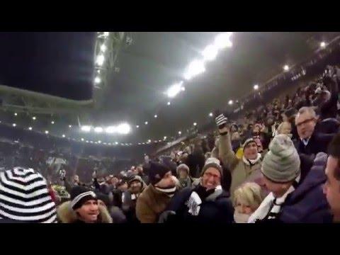 Juventus - Roma 1-0 goal Paulo Dybala Full HD @ Juventus Stadium