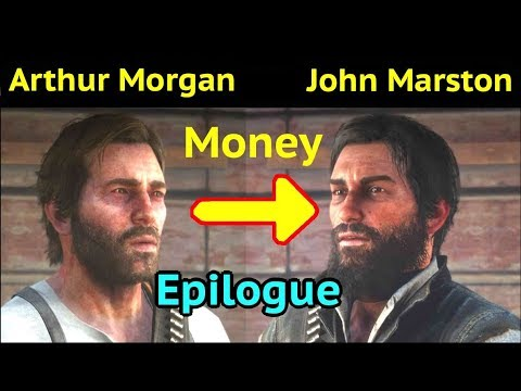 Keep Arthur's Money in Epilogue in Red Dead Redemption 2 (RDR2): Give  Arthur's Money to John Marston