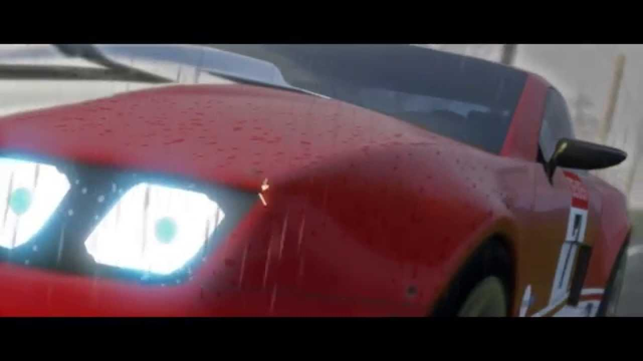 Rain Test - Made with: ManiaPlanet 4.0 - Pre-Alpha