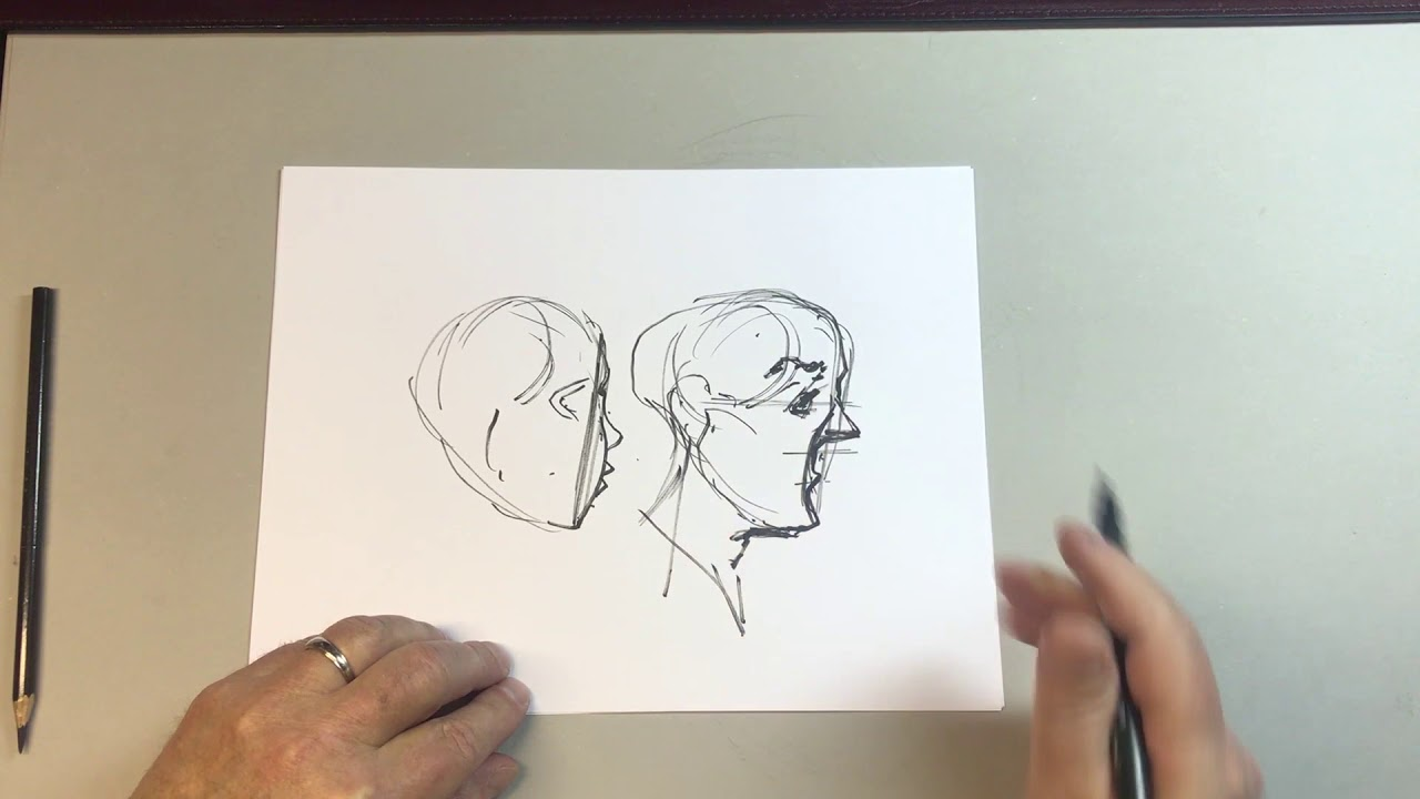 Reilly Method Fundamentals Facial Anatomy Demo of Renaissance ...
