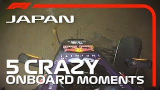 5 Crazy Onboard Moments   Japanese Grand Prix