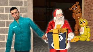 SAVING SANTA IN FNAF APOCALYPSE?! - Garry's Mod Gameplay - Gmod Sandbox FNAF NPCs