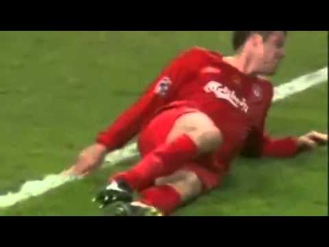 Jamie Carragher - Massive Tackles !