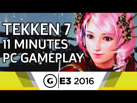 11 Minutes of Tekken 7 PC Gameplay - E3 2016