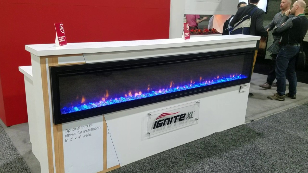 dimplex ignite xlf 100 inch electric fireplace youtube