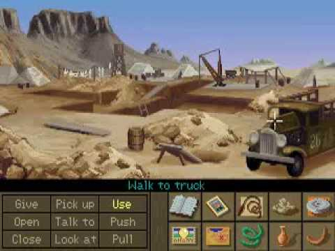 Indiana Jones and the Fate of Atlantis Walkthrough: Old dig site |