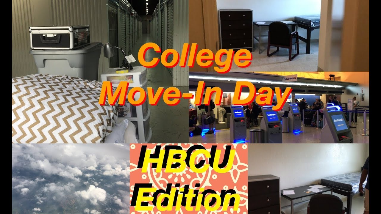 COLLEGE MOVE IN 2017 | Clark Atlanta University Part 55
