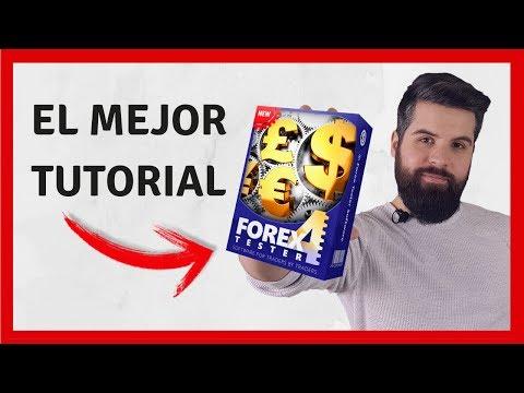 EL MEJOR TUTORIAL DE FOREX TESTER 4 EN ESPAÑOL