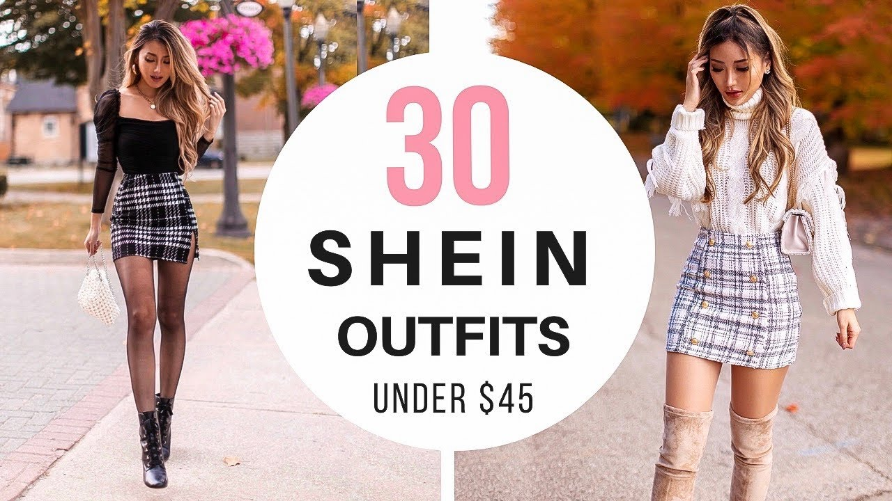 [VIDEO] - 30 SHEIN fall winter outfits under $45 | Try-on haul review & style 5